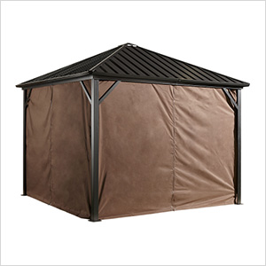 Dakota 8 x 8 ft. Gazebo Curtains