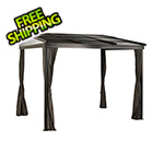 Sojag Francfort 10 x 12 ft. Wall Gazebo