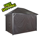 Sojag Genova 10 x 14 ft. Gazebo Curtains