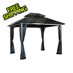 Sojag Genova II 12 x 12 ft. Double Roof Gazebo