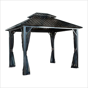 Genova II 12 x 12 ft. Double Roof Gazebo