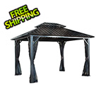 Sojag Genova II 12 x 16 ft. Double Roof Gazebo