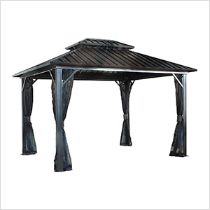 Genova II 12 x 16 ft. Double Roof Gazebo