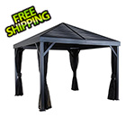 Sojag South Beach 12 x 12 ft. Grey Gazebo