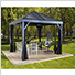 South Beach 12 x 12 ft. Grey Gazebo