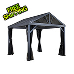Sojag South Beach I 12 x 12 ft. Grey Gazebo