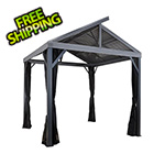 Sojag South Beach II 12 x 12 ft. Grey Gazebo