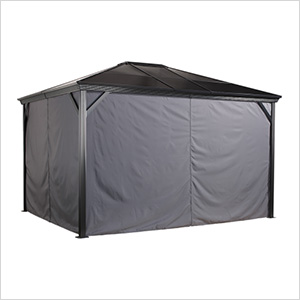Verona 10 x 12 ft. Gazebo Curtains
