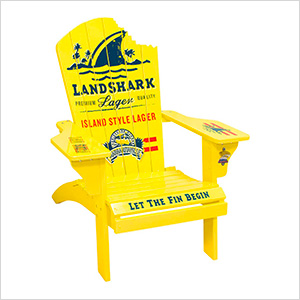 Landshark Lager Adirondack Chair
