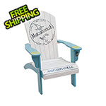 Margaritaville Fins To The Left Adirondack Chair