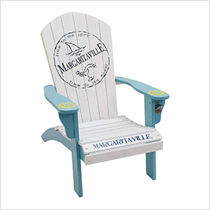 Fins To The Left Adirondack Chair