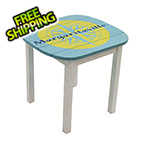Margaritaville Nautical Compass Adirondack Side Table