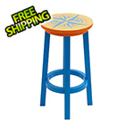 Margaritaville Nautical Compass Bar Stool