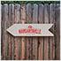Chill Spot Directional Garden Sign