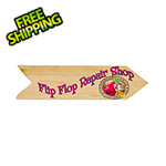Margaritaville Flip Flop Repair Shop Directional Garden Sign