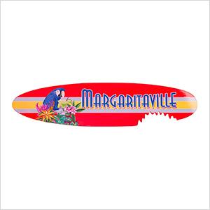 Surfboard Garden Sign