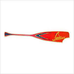 Landshark Red Paddle Sign