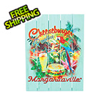 Margaritaville Cheeseburger in Paradise Wall Art