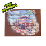Margaritaville Surf Truck Wall Art