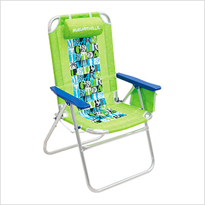 Lime Big Shot Beach Chair