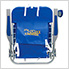 Pacific Blue 4-Position Backpack Beach Chair