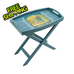 Margaritaville Bring Your Own Board Folding Butler Table