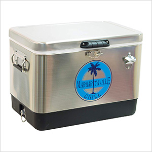Chill 54 QT. Stainless Steel Cooler