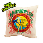 Margaritaville Port of Indecision Double Sided Throw Pillow