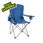 Quik Shade Navy Blue Deluxe Quad Chair