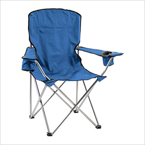 Navy Blue Deluxe Quad Chair