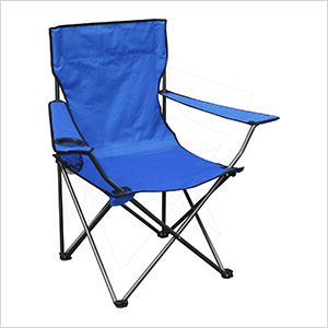 Blue Quad Chair