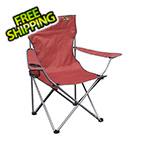 Quik Shade Red Quad Chair