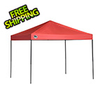 Quik Shade Red 8 x 10 ft. Straight Leg Canopy