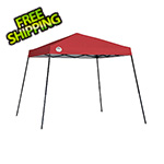 Quik Shade Red 10 x 10 ft. Slant Leg Canopy