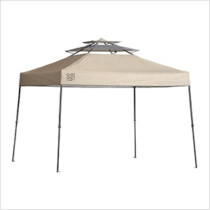 Taupe 10 x 10 ft. Straight Leg Canopy