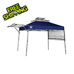 Quik Shade Blue 10 x 17 ft. Straight Leg Canopy