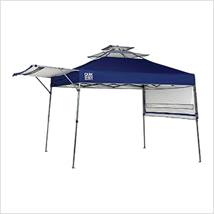 Blue 10 x 17 ft. Straight Leg Canopy