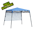Quik Shade Regatta Blue 6 x 6 ft. Slant Leg Canopy