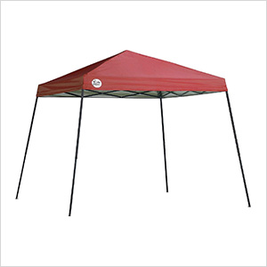 Red 10 x 10 ft. Slant Leg Canopy