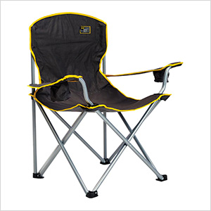 Black Heavy Duty Quad Chair