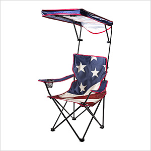 U.S. Flag Full Size Shade Chair
