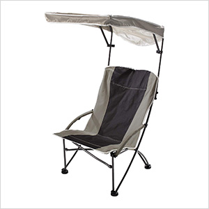 Tan/Black Pro Comfort High Back Shade Chair