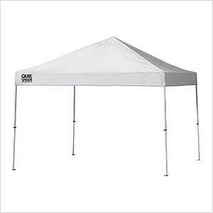 White 10 x 10 ft. Straight Leg Canopy