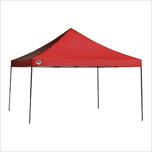 Red 12 x 12 ft. Straight Leg Canopy