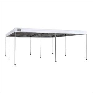 White 17 x 17 ft. Straight Leg Canopy