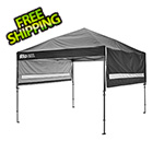 Quik Shade Black 10 x 17 ft. Straight Leg Canopy
