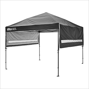 Black 10 x 17 ft. Straight Leg Canopy