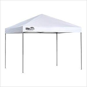 White 10 x 10 ft. Straight Leg Canopy