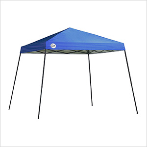 Blue 10 x 10 ft. Slant Leg Canopy