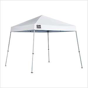 White 10 x 10 ft. Slant Leg Canopy